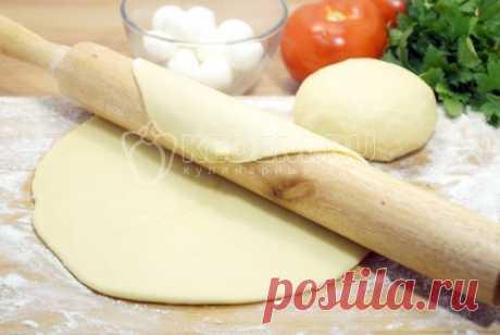 Рецепт теста для пиццы без дрожжей Не раз проверенный рецепт приготовления теста для пиццы без дрожжей обязательно должен быть у каждой хозяйки.