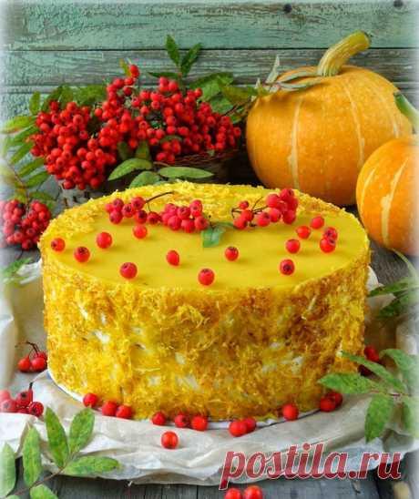 Осенние торты с тыквой — vellamonik