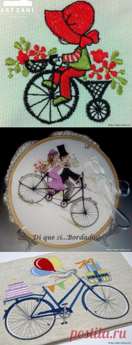 Вышиваем велосипед