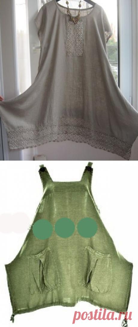 Простые идеи для шитья, или Как легко украсить себя летом. Часть 2