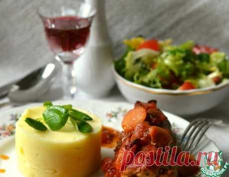 Мясные рулетики с начинкой – кулинарный рецепт
