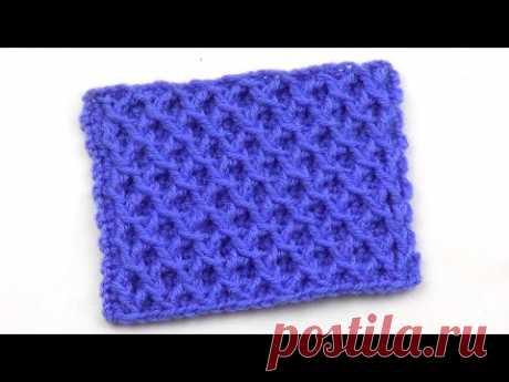 Рельефный сетчатый узор   Embossed mesh pattern