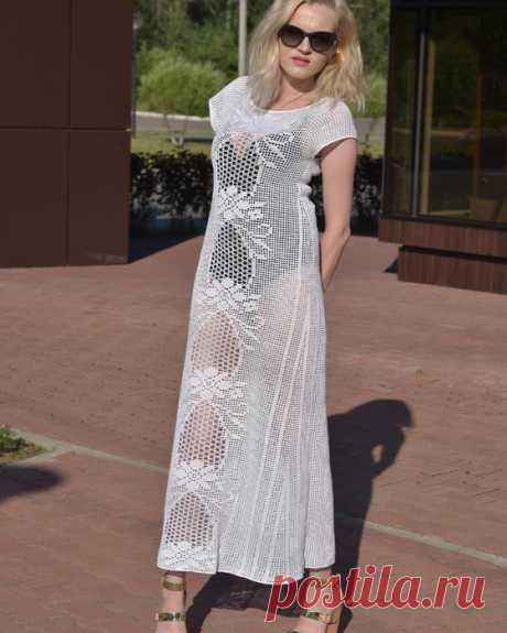 Филейные платья от Даны Романовой