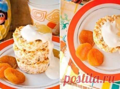Творожно-морковные сырники — Мегаздоров