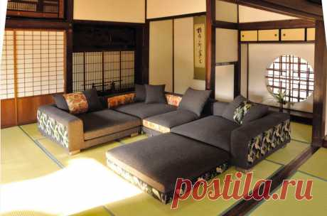 Варианты интерьера квартиры в японском стиле
