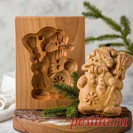 Пряничные доски: купить деревянную форму для печатных пряников в интернет магазине Texturra