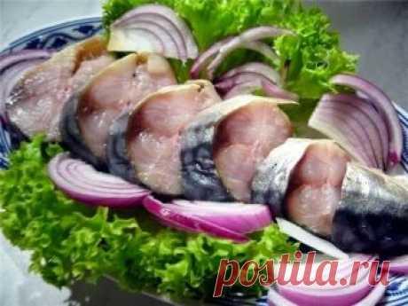 Как приготовить в таком маринаде скумбрия не уступает по вкусу красной рыбе - рецепт, ингредиенты и фотографии