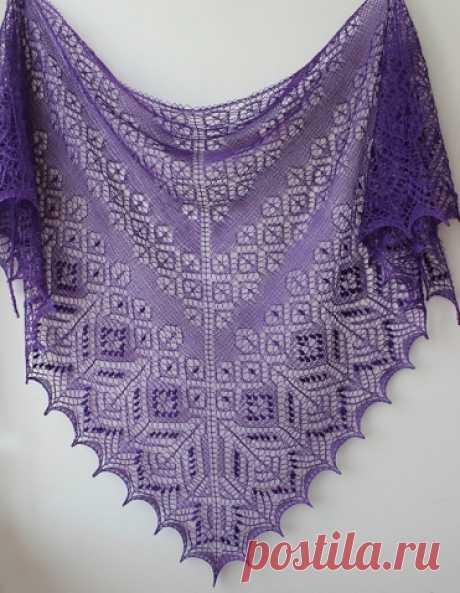 Шали спицами. Схемы. / Вязание спицами / Вязание для женщин спицами. Схемы вязания спицами