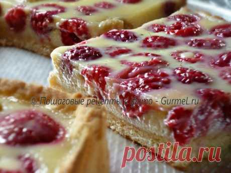 Delightful berry tart. The recipe with a photo. Step-by-step photos. Gurmel Delightful berry tart! Hit any summer.