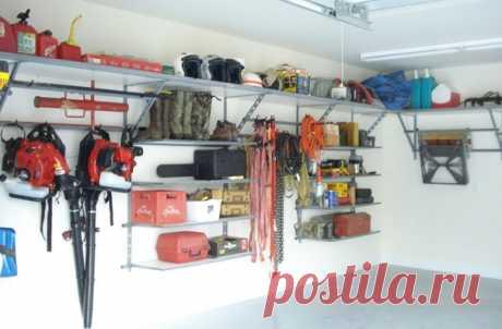 3 mejores consejos del arreglo del garaje en la cualidad kladovki