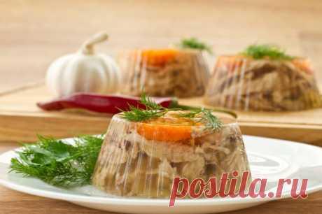 Холодец из трех видов мяса — Sloosh – кулинарные рецепты