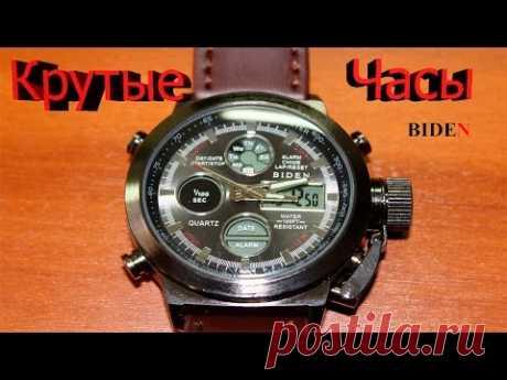 Отличные часы с Aliexpres. Biden B1060 / BD1003 обзор