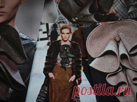 Жабо Fendi (Diy) Модная одежда и дизайн интерьера своими руками