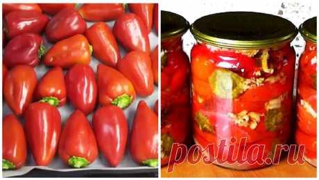 Маринованный болгарский перец на зиму | Вкусное хобби | Яндекс Дзен