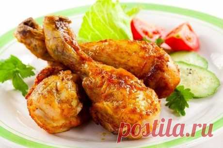 How to prepare chicken legs with honey - the recipe, ingredients and photos