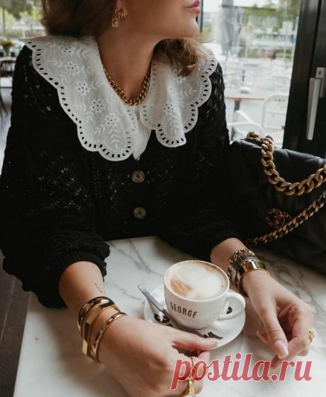 Воротник - модный тренд и выгодный прием, помогающий выглядеть стильно и разнообразно   До и после 50-ти   Яндекс Дзен