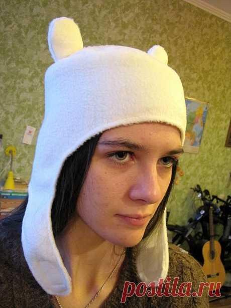Как сшить шапку Финна (Adventure Time) - Ярмарка Мастеров - ручная работа, handmade