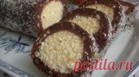 Кокосовый рулет «Раффаэлло» – десерт, который поселится в вашем доме навсегда! – В Курсе Жизни