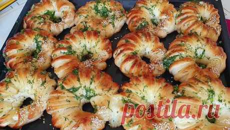 Сырные булочки с чесноком
