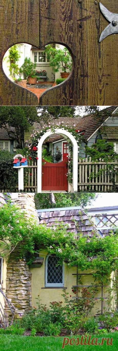 Уютные дворики: дачные идеи