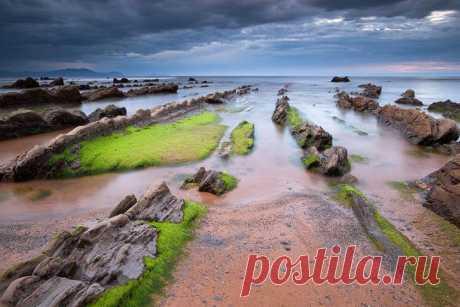 (+1) тема - Турбидиты – необычные образования на побережье Испании   Наука и техника