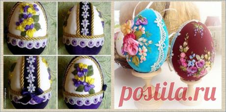 Декоративные пасхальные яйца своими руками - техники - стили - интересные идеи | МНЕ ИНТЕРЕСНО | Яндекс Дзен
