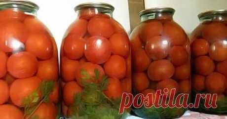 Необыкновенные помидоры на зиму. Результат превзошёл все ожидания!