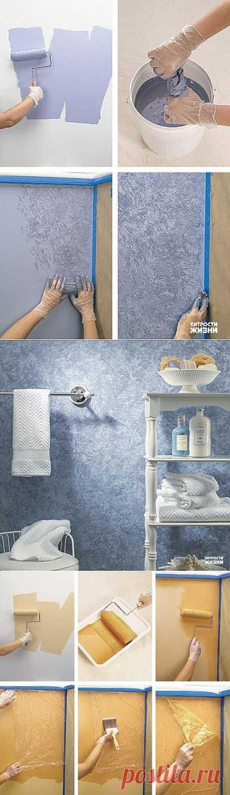(+1) тема - Интересные идеи при покраске стен | УЮТНЫЙ ДОМ | советы