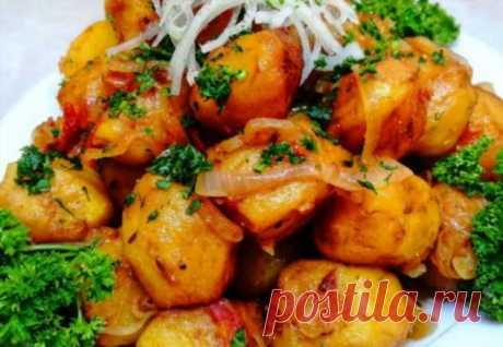 Картошка по-ташкентски за 40 минут |
