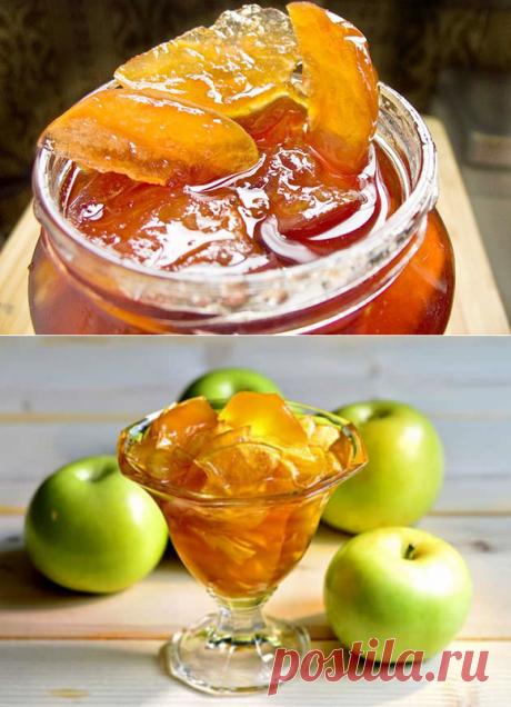 Варенье из яблок «Пятиминутка». Секреты приготовления. | Цветочный дом Самсон Букет | Яндекс Дзен