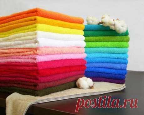 Полезные советы – как сделать махровые полотенца снова мягкими