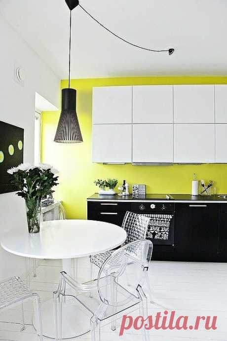 More brightly than bright: 50 juicy examples of use of neon color in an interior