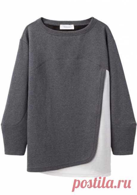 Sweat Top от Chalayan Grey Line / Свитер / Модный сайт о стильной переделке одежды и интерьера