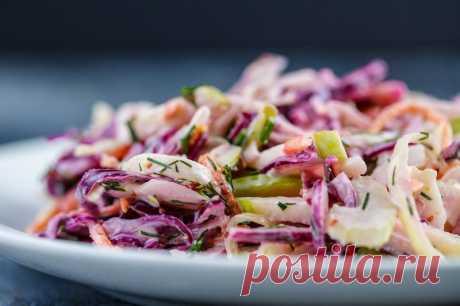Салат Коул Слоу – американская закуска из простых ингредиентов — Sloosh – кулинарные рецепты