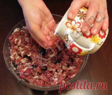 Домашняя колбаса (по маминому рецепту) – Kyxarka.ru