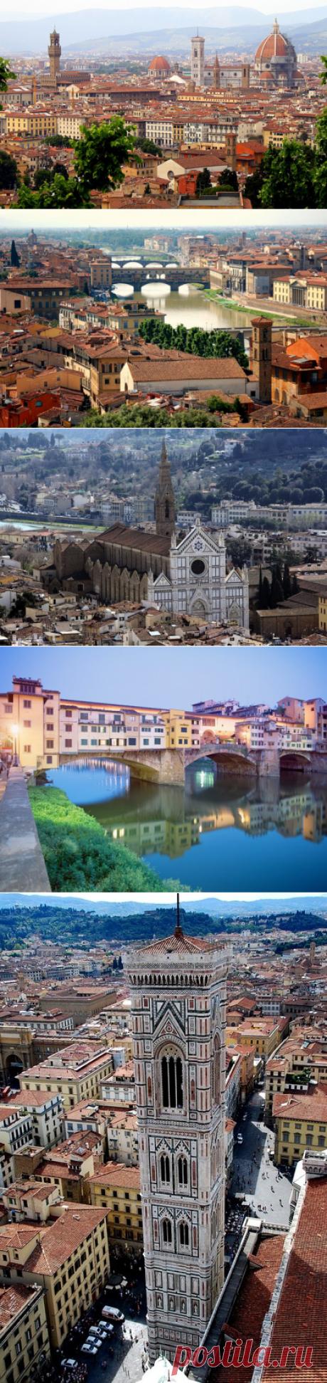 La ciudad Florencia (Italia)