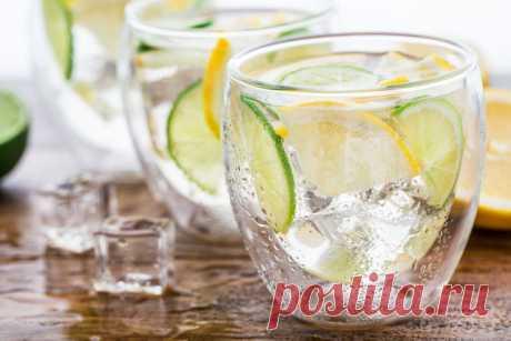 Вкусная питьевая вода: идеи и рецепты