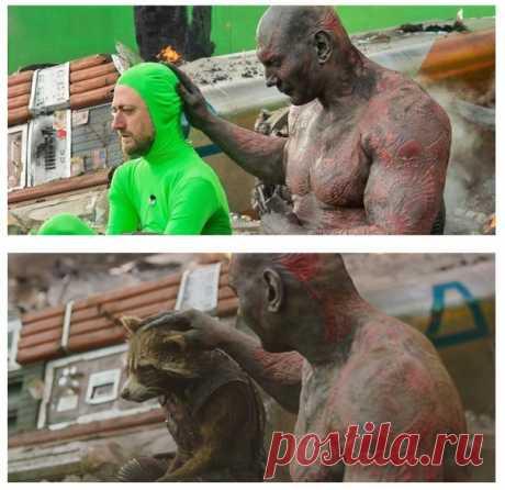 10 сцен из фильмов до и после спецэффектов — Infodays