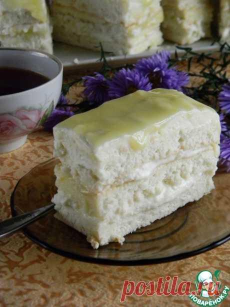 """Лимонное пирожное. Палочка — выручалочка, если гости на подходе. Готовится проще простого   Ингредиенты для """"Лимонное пирожное"""":   Яйцо куриное(бисквит-3шт;мусс-1шт;курд-2шт) —6 шт Мука пшеничная(бисквит) —70 г Сахар(бисквит-90гр;мусс-100гр;курд-80гр) —270 г Крахмал картофельный(бискви…"""
