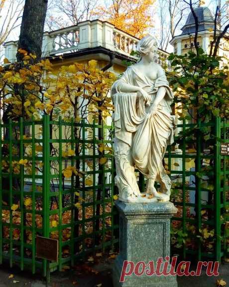 Скульптуры летнего сада в Санкт-Петербурге - описание с названиями
