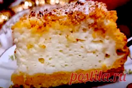 Итальянский пирог «Сметанное суфле». Замена любому торту