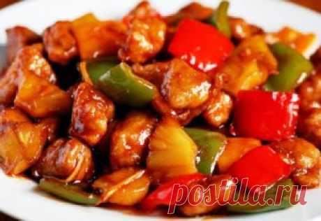 La carne con hortalizas por - kitayski