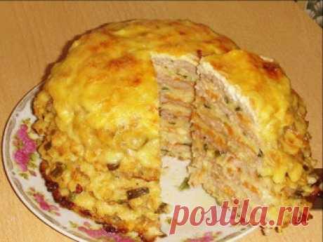 Лучшие кулинарные рецепты: Капустный тортик