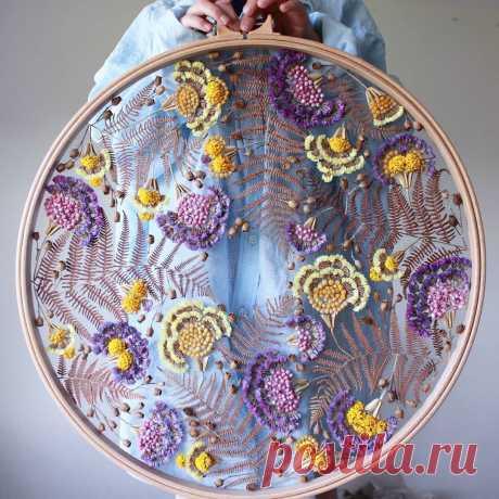 Вдохновляющие идеи для тех, кто любит вышивку (июньская подборка) | Хроники Сельских Бюджетников | Яндекс Дзен