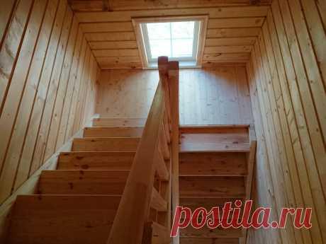 Какая лестница у нас получилась за 35 тысяч рублей