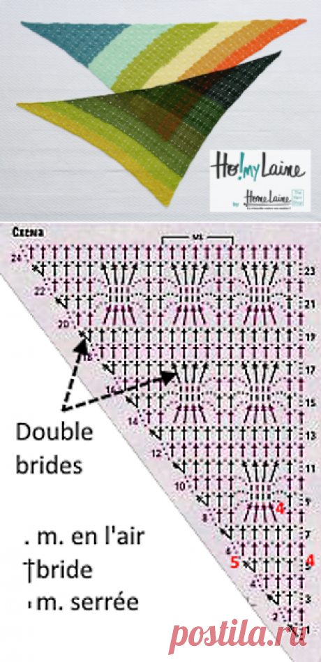 2 разноцветные chèches: меринос по Fonty и Кате     Homelaine