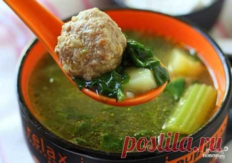Суп с фрикадельками - 62 рецепта