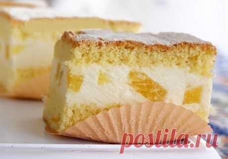 Торт с нежнейшим творожным кремом - Готовим по-домашнему