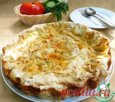 Пирог овощной в лаваше – кулинарный рецепт