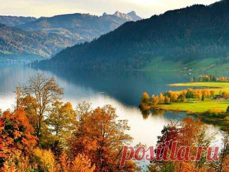 Шикарная осень в Альпах Швейцарии!